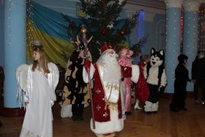 Святий Миколай на свято завітав