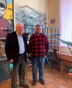 Екскурсія для вахтанга Кіпіані музеєм Василя Стуса