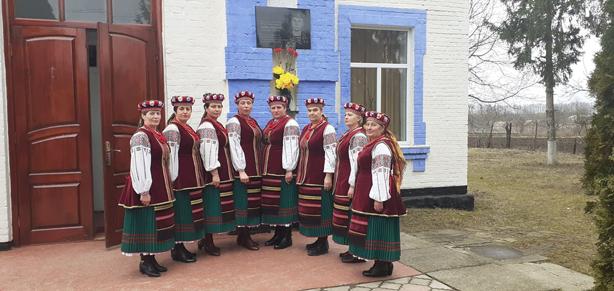 """Народний фольклорний ансамбль """"Берегиня"""" Рахнівського СБК"""